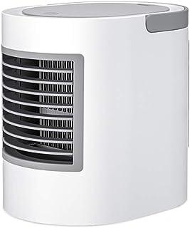 QJF-scales Ventilador Portatil Mini Aire Acondicionado Ventilador Silencioso Bajo Consumo Interfaz De Carga USB para Hogar Oficina Sala Viaje