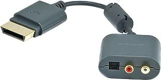 Monoprice RCA/Toslink Audio Adapter for Xbox 360 and Xbox 360 Slim (107526)