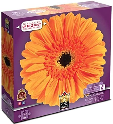 Royal Garden Daisy 750 Piece Puzzle by King of Puzzles