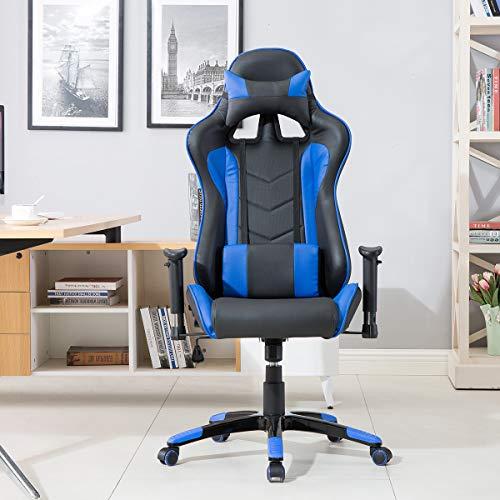 Delman Gaming Stuhl (Blau)
