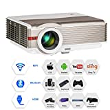 LCD Bluetooth Projector WiFi...