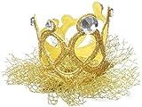 mandy rhinestone crown gold