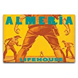 WPQL Lifehouse Almeria - Póster de arte moderno para el hogar, hotel, mural decorativo de impresión artística, póster clásico de 30 x 45 cm