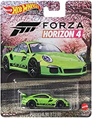 ホットウィール(Hot Wheels) レトロエンターテイメント - ポルシェ 911 GT3 RS GRL77 グリーン