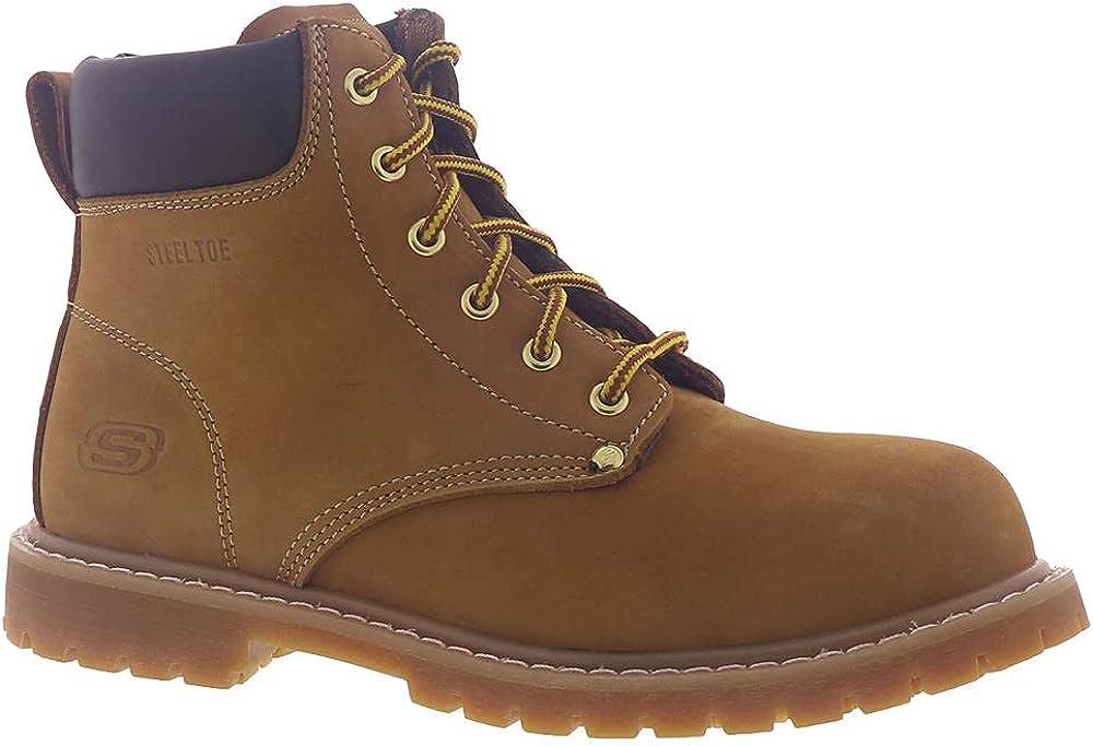 Skechers Women's Work Cottonwood - Etah ST Steel Toe Boot