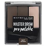 Maybelline New York Master Brow Pro Palette Design Kit NU3 Soft Brown Paleta do makijażu brwi
