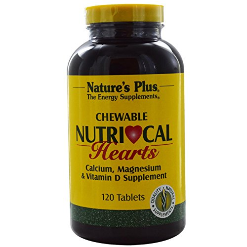 NutriCal Hearts (Ca, Mg, Vit. D) 120 Kautabletten NP