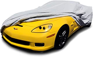 CarsCover Custom Fit 2005-2013 C6 Chevy Corvette Z06 ZR1 Grand Sport Custom Car Cover for 5 Layer Ultrashield (Gray)
