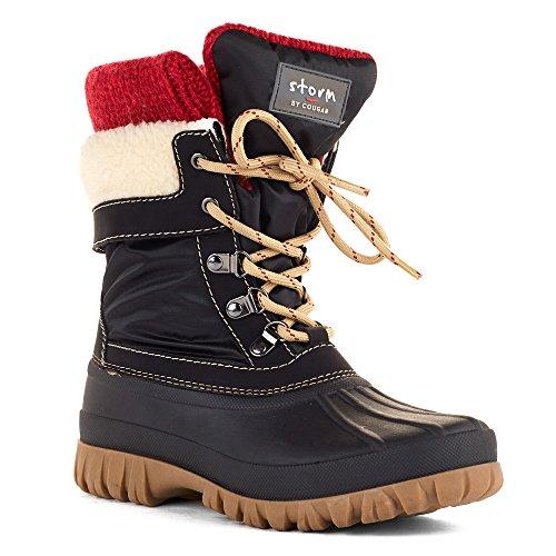 COUGAR Creek Women's Boot, Black, 9 M US