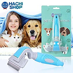 70%OFF HACHI SHOP Dog Shedding Brush Pet Grooming Deshedding Brushes Hair Remover Tool