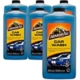 Armor All Foam Action Car Wash - Cleaning Concentrate for Cars & Truck & Motorcycle, 24 Fl Oz Bottles - Pack of 6, 25024
