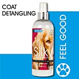 Natural VetCare Silky Detangling and Conditioning Grooming Spray for Dogs and Cats, 300
