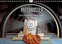 Paternoster (Wandkalender 2022 DIN A4 quer): Einige der letzten in Wien, Berlin und Hamburg (Monatskalender, 14 Seiten )