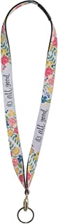 Brownlow Gifts Simple Inspirations Quick Release Neck Lanyard ID Badge and Keychain Holder, 19-Inches, It's All Good