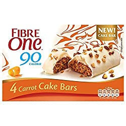 Fibre One 90 Calorie Carrot High Fibre Cake Bars 4x25 g