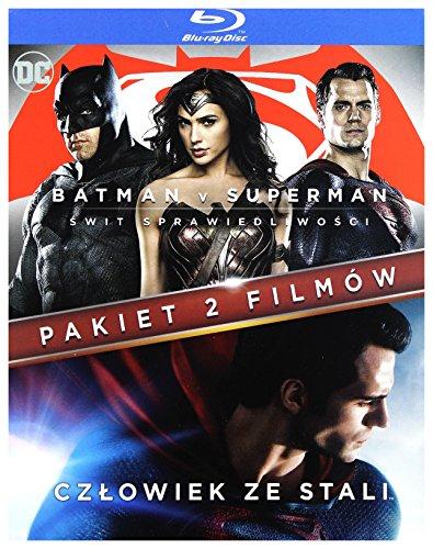 Batman Vs Superman: Ĺwit SprawiedliwoĹci / CzĹowiek Ze Stali [2Blu-Ray] (Nessuna versione italiana)