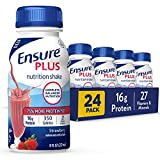 IMMUNE SYSTEM SUPPORT: Nutrients to support immune-system health, with protein, vitamins A and D, zinc, and antioxidants 75% MORE PROTEIN: Ensure Plus nutrition shakes contain 16 grams of high-quality protein COMPLETE, BALANCED NUTRITION: With nutrie...