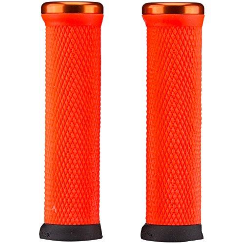 ODI MTB Griffe Elite Motion Lock On 2.1, 130mm Orange Klemmringe, D33MTO-O Asas, Unisex Adulto, Naranja, 130 mm