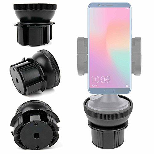 DURAGADGET Support Voiture 4 en 1 pour Huawei Honor 7X et View 10 - Grille d'aération/parebrise/Tableau de Bord/Porte gobelet