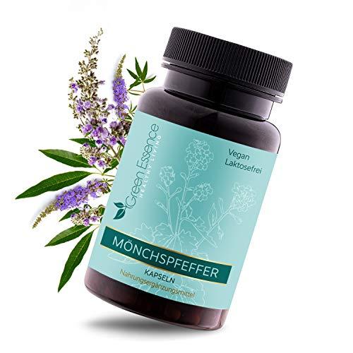 Green Essence® Mönchspfeffer Kapseln– [180] Kapseln mit jeweils 10,0 mg Extrakt pro Kapsel –...