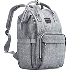 100% LIFETIME WARRANTY – Want protect your Diaper Bag for life? With KiddyCare it's a reality! we are proud of our Diaper Bag Backpack and we are so confident in our design and quality, we guarantee not only that you will be 100% satisfied with our p...