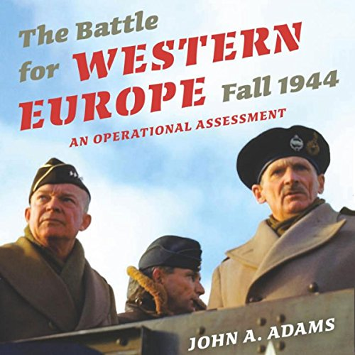 The Battle for Western Europe, Fall 1944  By  cover art