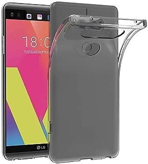 LG V30 Kılıf Kapak Tam Şeffaf TPU Silikon