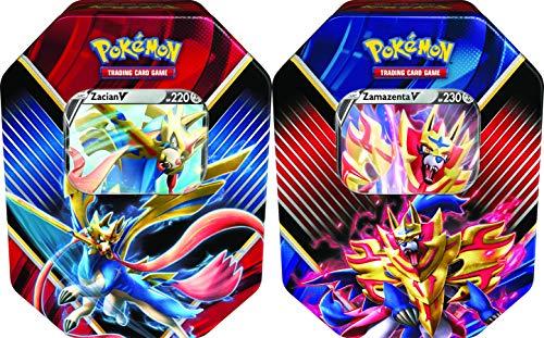 Pokémon POK07787 Pokémon TCG : Légendes de Galar V Tin (Un au Hasard), Couleurs mélangées