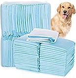 Kunyoxiu Welpenunterlage Hygieneunterlagen Ultra saugfähige Trainingsunterlagen für Welpen Katzen Hunde Haustiere Toilettenmatte (33 * 45cm & 100 Stück)