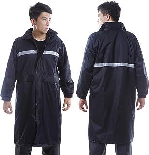 BGROESTWB Snow Rainwear Reflective Long Raincoat Rain Jacket Waterproof Reflective High Visibility Multifunction Outdoor C...
