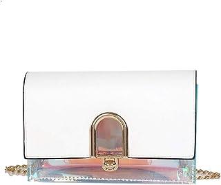 Wultia - Bags for Women Women Joker Simple Fashion Shoulder Bag Messenger Bag Small Square Bag Bolsa Feminina White