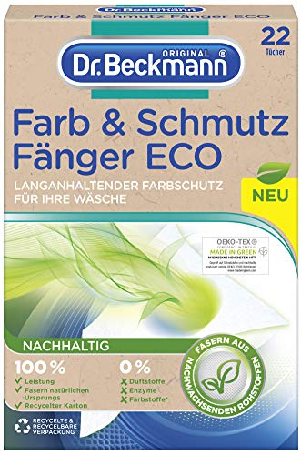 Dr. Beckmann Farb- und Schmutzfangtücher ECO, 22 Tücher