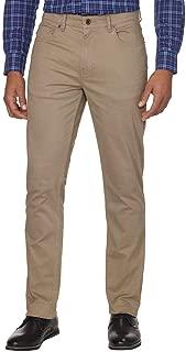 Men's Bedford Slim Straight Brushed Twill Pant (Fallen Rock, 36W x 30L)
