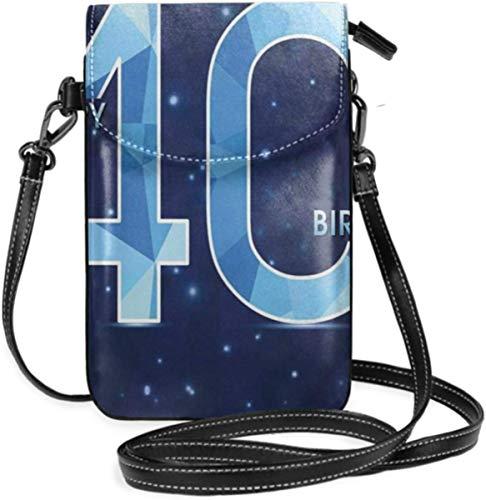 Petit Sac à Main de Sac à Main de téléphone Portable de Femmes, Anniversaire de 18 Ans avec l'étoile de Galaxie comme l'image de Points