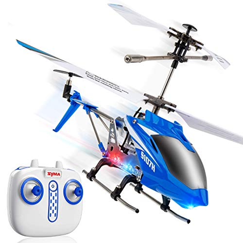 Syma S107H Remote Control Helicopter - w/ Altitude Hold Indoor RC Helicopter for Adults, Flying Toys...