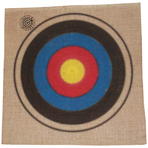 BOGENMICHEL Umweltfreundliche Zielscheibenauflage Jute, 2 Stück, 600 x 600 x 2mm