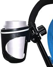 Becherhalter f/ür Kinderwagen verstellbar verbesserte Version des Fahrrad- und Kinderwagen-Flaschenhalter rutschfest universell um 360 Grad drehbar Getr/änkehalter