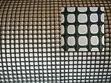 AquaFert Aquaristik Pflanzgitter/Plastikgitter/Moosgitter aus PE-Kunststoff grün eingefärbt Maschenweite 5 mm
