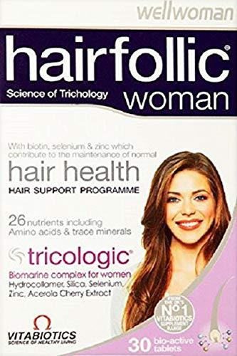Vitabiotics Wellwoman Hairfollic Woman 30 Tablets
