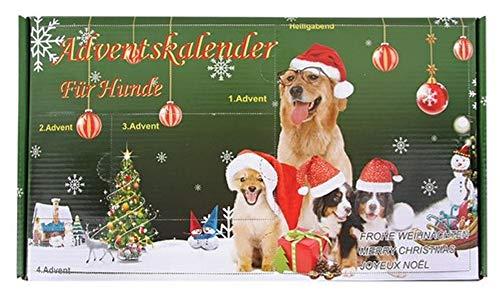 Adventskalender für Hunde mit Hundespielzeug