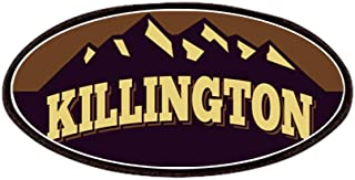CafePress Killington Sepia Patches Patch, 4x2in Printed Novelty Applique Patch