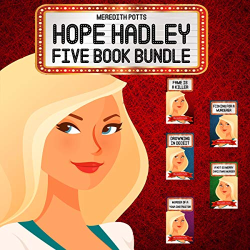 Hope Hadley Five Book Bundle cover art