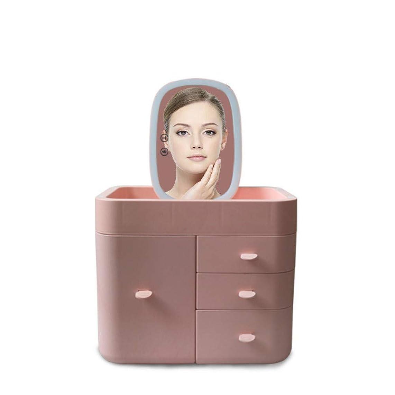 Makeup Mirror ?Led Makeup Mirror Multi-Function???Storage Box Portable Cosmetic Case