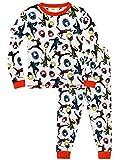 Power Ranger Pijamas para Niños Ajuste Ceñido Ninja Steel Blanco 5-6 Años