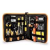 SISHUINIANHUA 17 in 1 Hand Tool Set Electronic Maintenance Repair Tools Kit Electric Soldering Iron...