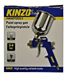 Kinzo 29639 - Pistola de pintura (3-4 bar, 500 ml)