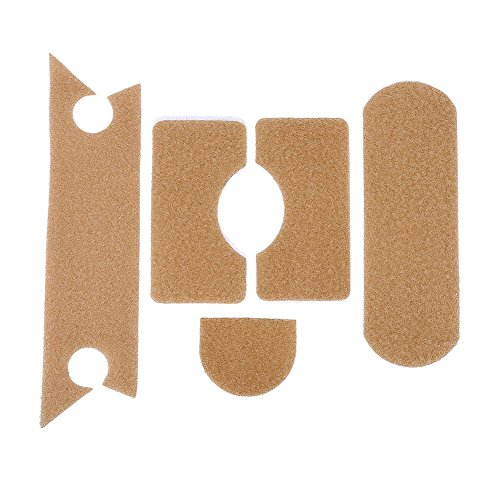 Vbestlife 5pcs Strong Adhesive DIY Tactical Ballistic MH Fast Helmet Patch Hook Loop Sticker Airsoft Military ArmyTan