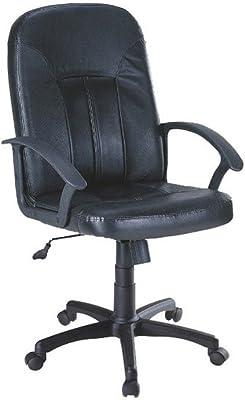 JUSTyou Q-023 Sillón Silla de escritorio de oficina Negro Tamaño 100-112 x