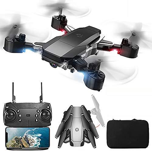 XIAOKEKE A20 Drone WiFi FPV 4K HD Camera, Best Drone for Beginners with Altitude Hold, VR Vision, G-Sensor, Trajectory Flight, 3D Flips, Headless Mode, One Key Operation, Smart Follow,Black