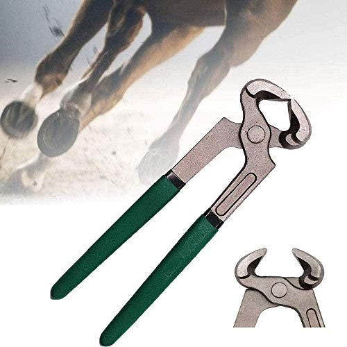 Mehrzweck-Hufschneider Pferdehuf Hufschmiede Zange Langlebige Hufzange aus Kohlenstoffstahl Messerschneider Griffwerkzeuge für Ziegen Schafschweine Rinderpferde Milchprodukte Kuhhufschneider